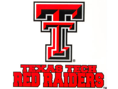 Texas Tech Red Raiders Static Cling Decal