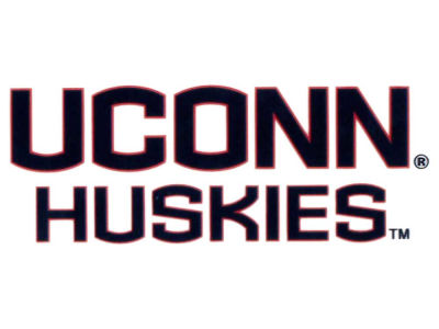 Connecticut Huskies Static Cling Decal
