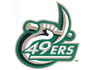 Charlotte 49ers Static Cling Decal