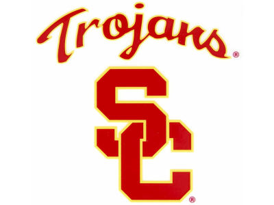 USC Trojans Static Cling Decal