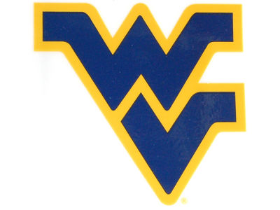 West Virginia Mountaineers Static Cling Decal