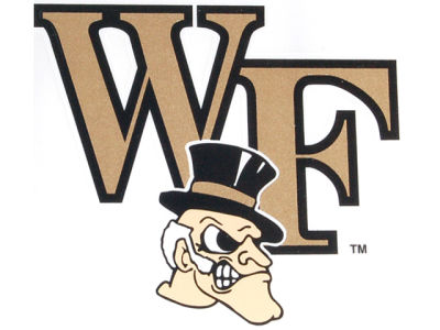 Wake Forest Demon Deacons Static Cling Decal