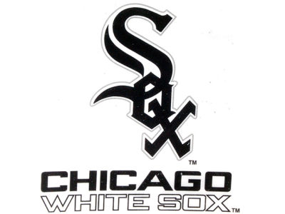 Chicago White Sox Static Cling Decal