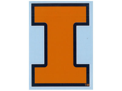 Illinois Fighting Illini Vinyl Decal