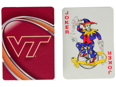 Virginia Tech Hokies Playing Cards