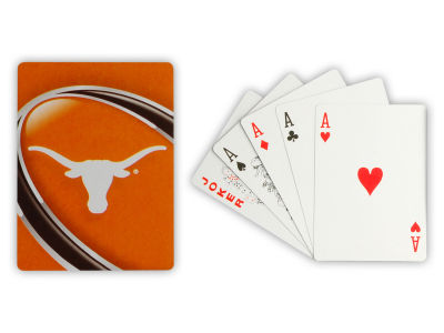 Texas Longhorns Playing Cards