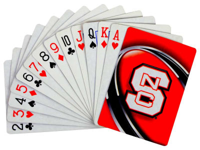 North Carolina State Wolfpack Playing Cards