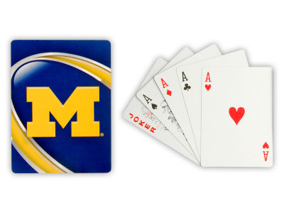 Michigan Wolverines Playing Cards