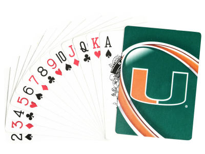 Miami Hurricanes Playing Cards