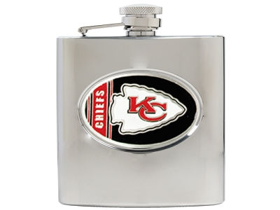 Kansas City Chiefs Hip Flask