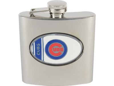 Chicago Cubs Hip Flask