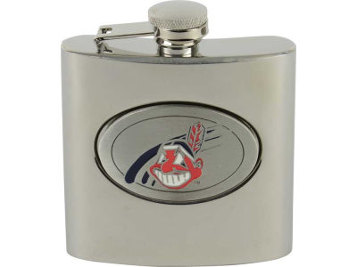 Cleveland Indians Hip Flask