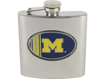 Michigan Wolverines Hip Flask