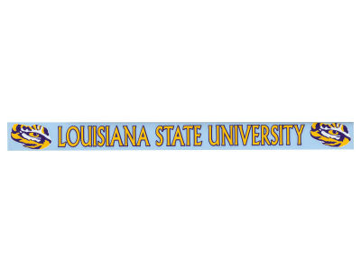 LSU Tigers Long Decal