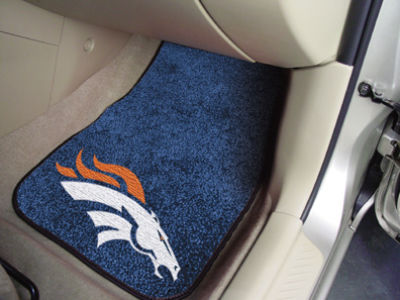Denver Broncos Car Mats Set/2