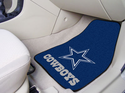 Dallas Cowboys Car Mats Set/2