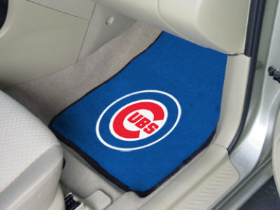 Chicago Cubs Car Mats Set/2