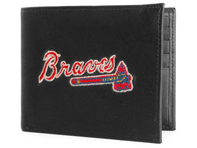 Atlanta Braves Black Bifold Wallet