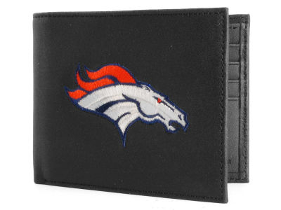 Denver Broncos Black Bifold Wallet