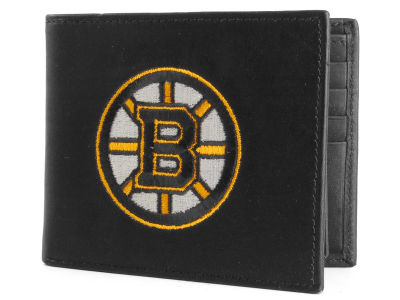 Boston Bruins Black Bifold Wallet
