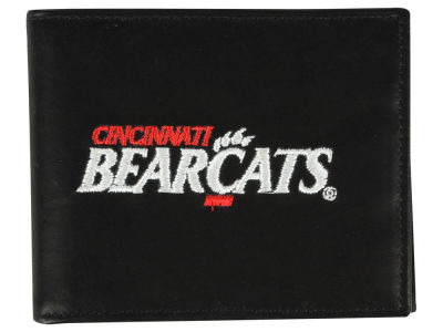 Cincinnati Bearcats Black Bifold Wallet
