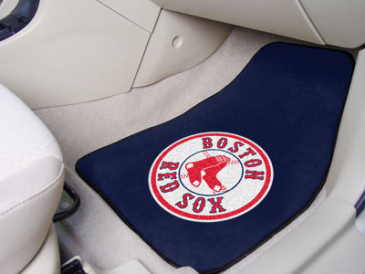 Boston Red Sox Car Mats Set/2