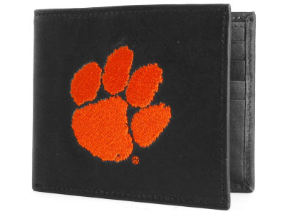 Clemson Tigers Black Bifold Wallet