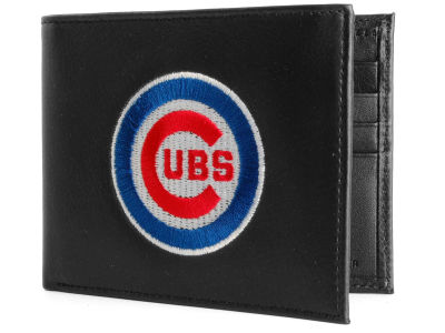 Chicago Cubs Black Bifold Wallet