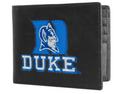 Duke Blue Devils Black Bifold Wallet