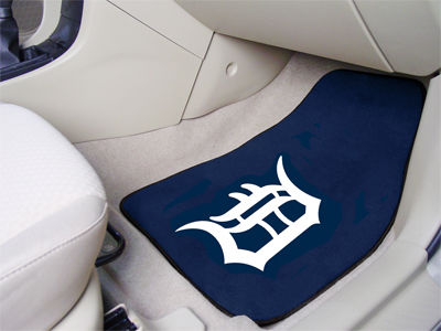 Detroit Tigers Car Mats Set/2
