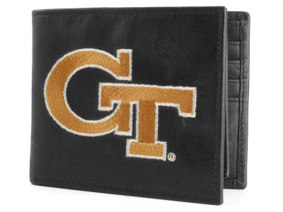 Georgia-Tech Black Bifold Wallet