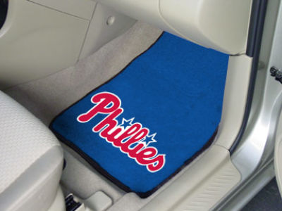 Philadelphia Phillies Car Mats Set/2