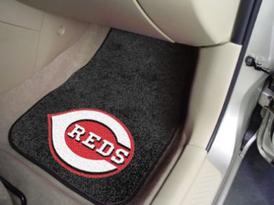 Cincinnati Reds Car Mats Set/2