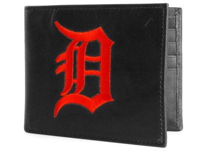 Detroit Tigers Black Bifold Wallet