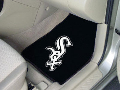 Chicago White Sox Car Mats Set/2