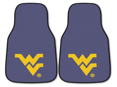 West Virginia Mountaineers Car Mats Set/2