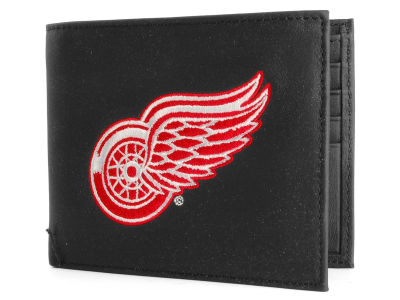 Detroit Red Wings Black Bifold Wallet