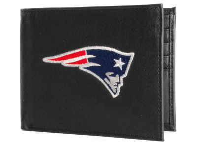 New England Patriots Black Bifold Wallet
