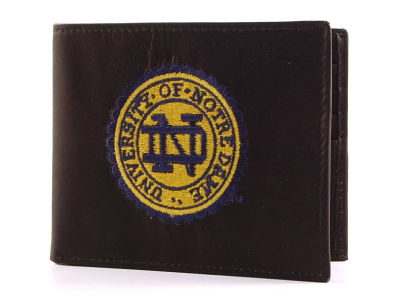 Notre Dame Fighting Irish Black Bifold Wallet