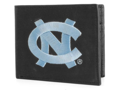 North Carolina Tar Heels Black Bifold Wallet