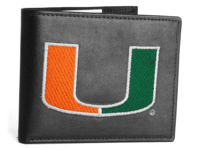 Miami Hurricanes Black Bifold Wallet