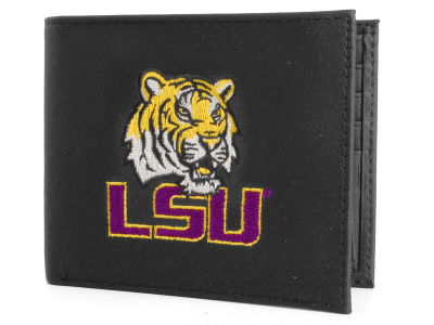 LSU Tigers Black Bifold Wallet