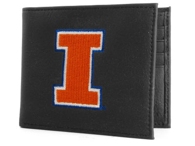 Illinois Fighting Illini Black Bifold Wallet