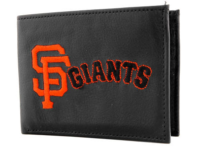 San Francisco Giants Black Bifold Wallet
