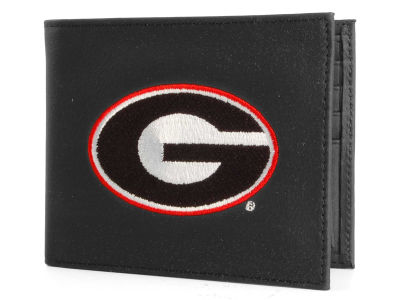 Georgia Bulldogs Black Bifold Wallet