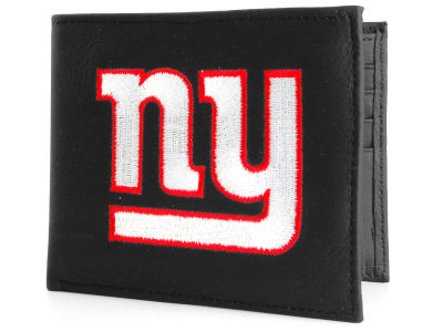 New York Giants Black Bifold Wallet