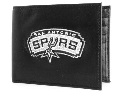 San Antonio Spurs Black Bifold Wallet