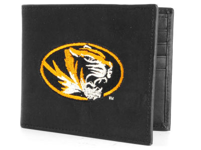 Missouri Tigers Black Bifold Wallet