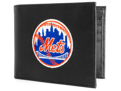 New York Mets Black Bifold Wallet