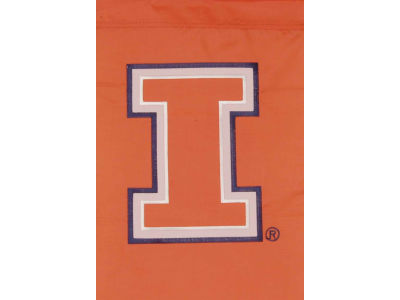 Illinois Fighting Illini Garden Flag